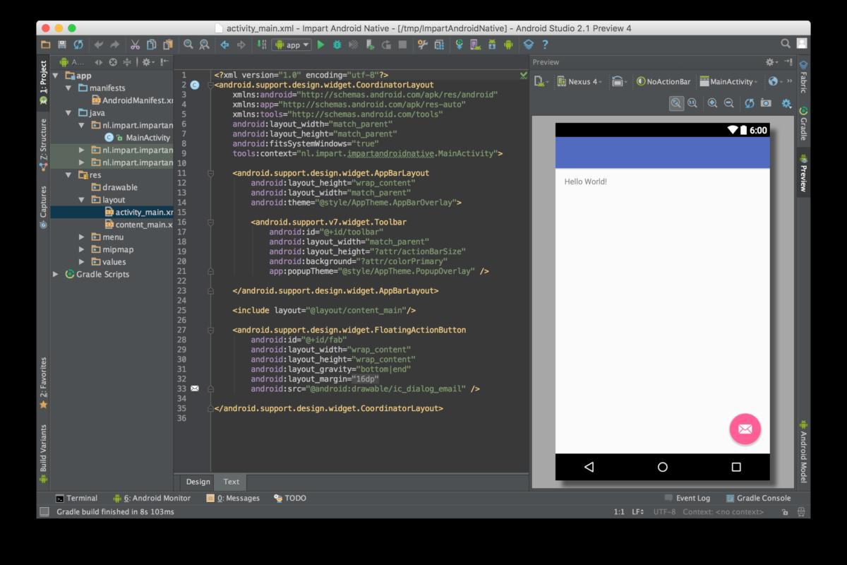 Androidstudio Screenshot